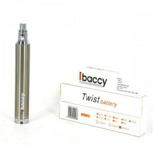 iBaccy E-Cigarette Twist Variable Voltage Battery