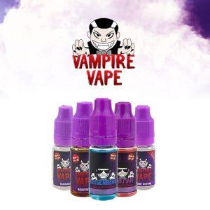 Vampire Vape E-Liquids 10ml 60VG/40PG