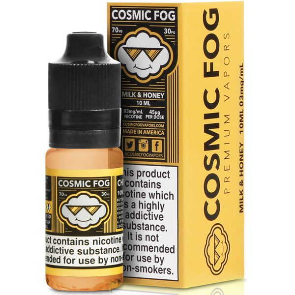 Cosmic Fog Milk And Honey 10ml E-Liquid