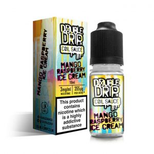 Double Drip Mango Raspberry Ice Cream 10ml E-Liquid