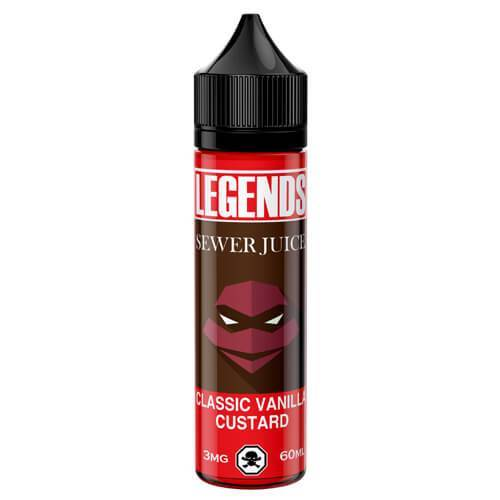 Legends Sewer Juice Dulce Vanilla Custard 50ml Shortfill E-Liquid