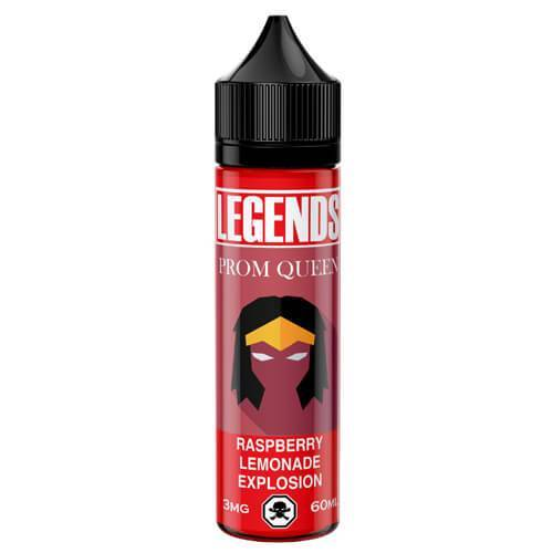 Legends Prom Queen Pink Lemonade Explosion 50ml Shortfill E-Liquid