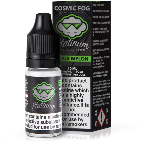 Cosmic Fog Sour Melon 10ml E-Liquid