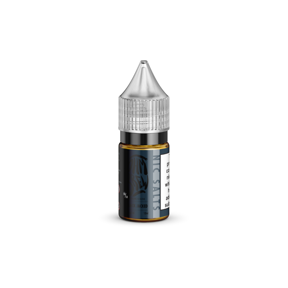 Ohm Brew Black Jacked 10ml Nic Salt E-Liquid