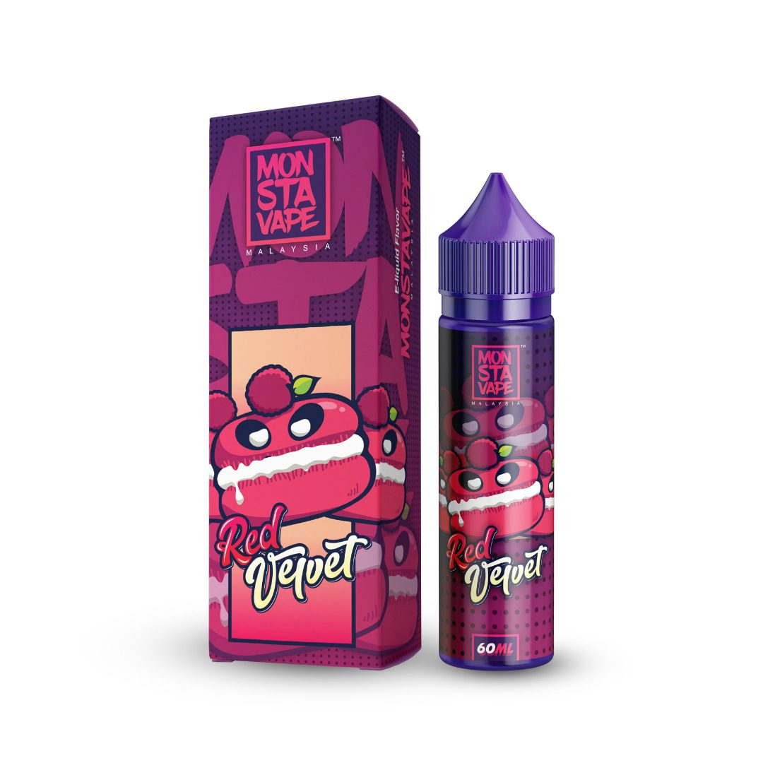 Monsta Vape Red Velvet 50ml Shortfill E-Liquid