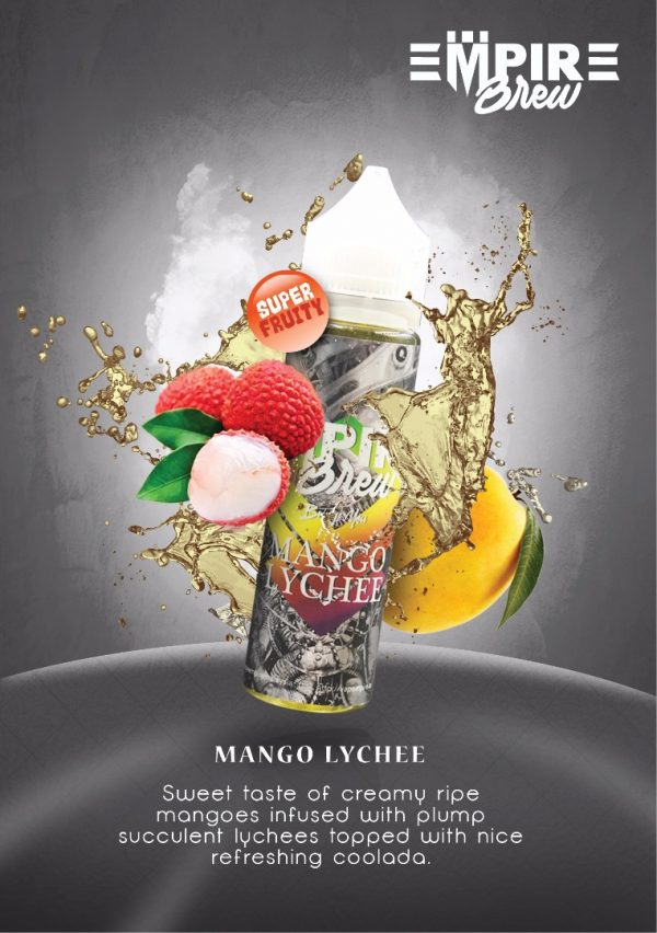 Empire Brew Mango Lychee 50ml Shortfill E-Liquid