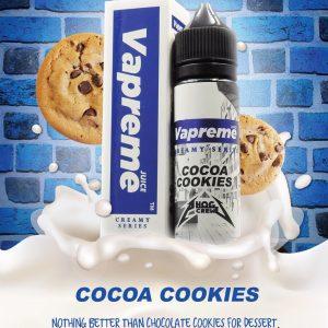 Vapreme Cocoa Cookies 50ml Shortfill E-Liquid