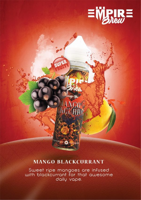 Empire Brew Mango Blackcurrant 50ml Shortfill E-Liquid