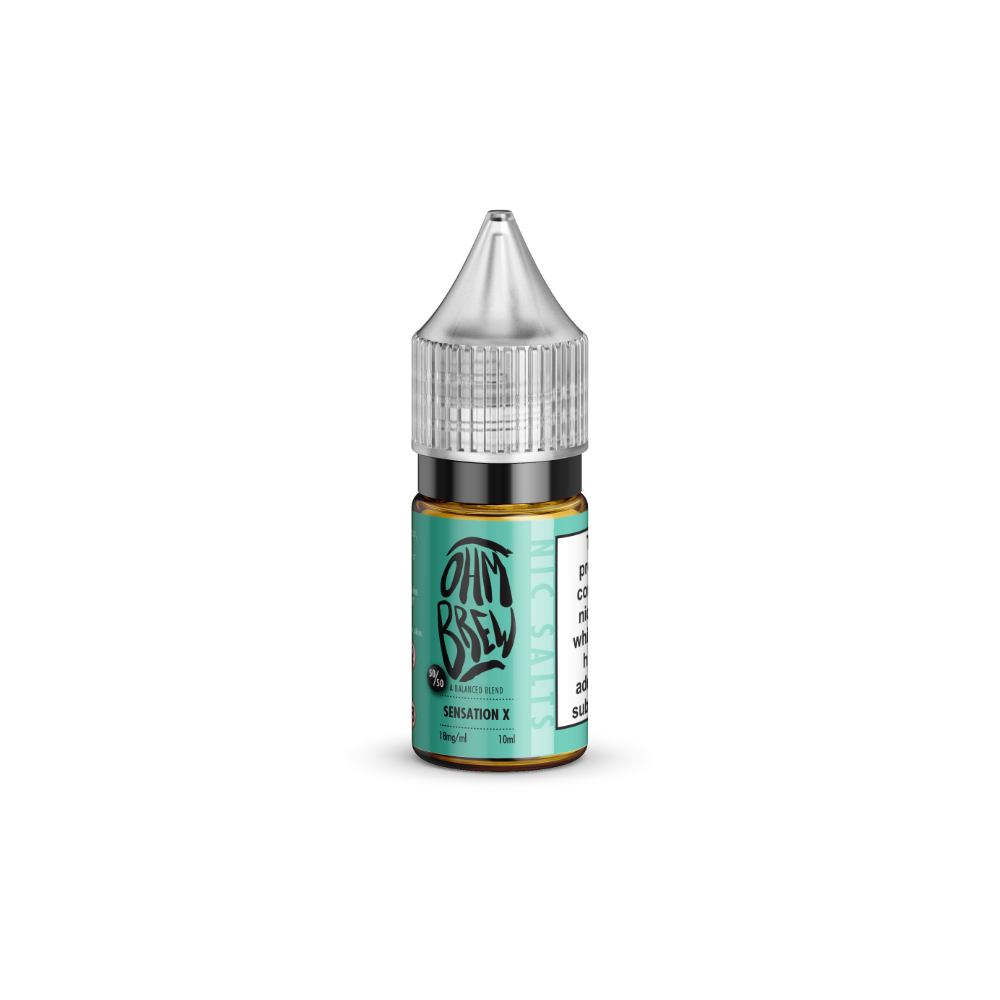 Ohm Brew Sensation X 10ml Nic Salt E-Liquid