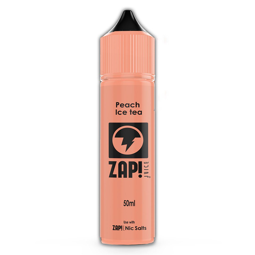 ZAP! Peach Ice Tea 50ml Shortfill E-Liquid