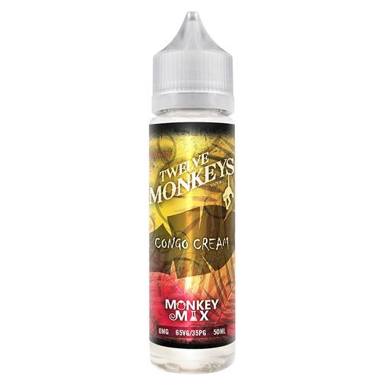 Twelve Monkeys Congo Cream 50ml Shortfill E-Liquid