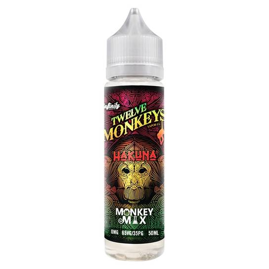 Twelve Monkeys Hakuna 50ml Shortfill E-Liquid