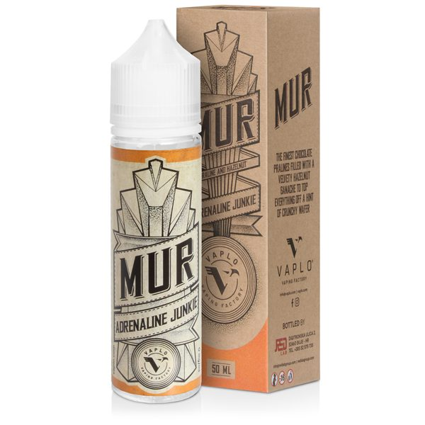 MUR Adrenaline Junkie 50ml Shortfill E-Liquid