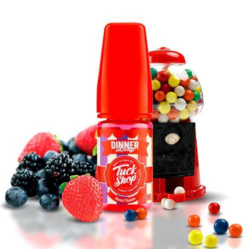 Dinner Lady Tuck Shop Sweet Fusion 30ml Shortfill E-Liquqid