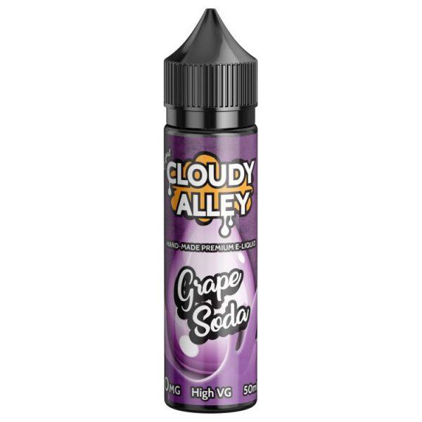 Cloudy Alley Grape Soda 50ml Shortfill E-Liquid