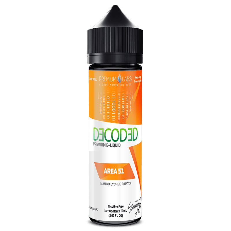 Decoded Area 51 50ml Shortfill E-Liquid