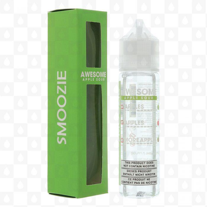 Smoozie Awesome Apple Sour 50ml Shortfill E-Liquid