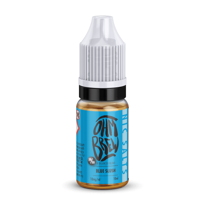 Ohm Brew Blue Slush 10ml Nic Salt E-Liquid