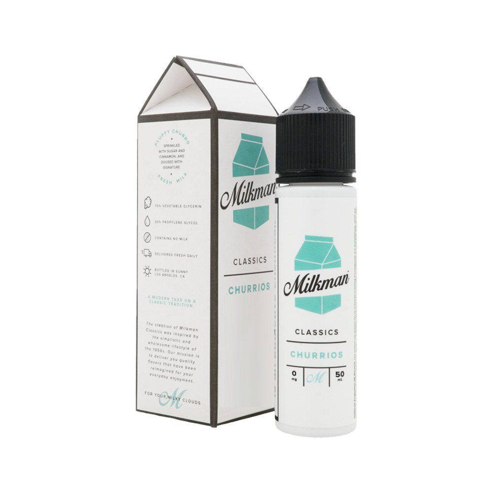 The Milkman Churrios 50ml Shortfill E-Liquid