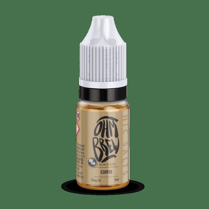 Ohm Brew Coffee 10ml Nic Salt E-Liquid