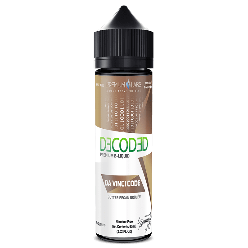 Decoded Davinci Code 50ml Shortfill E-Liquid