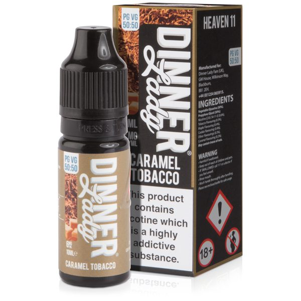 Dinner Lady Caramel Tobacco 10ml E-Liquid