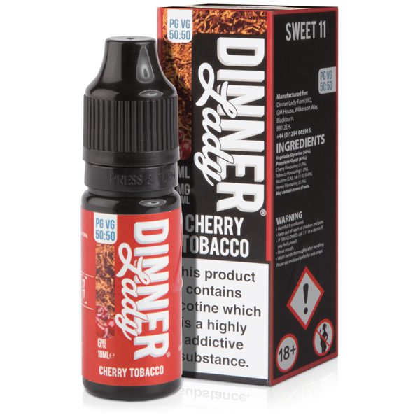 Dinner Lady Cherry Tobacco 10ml E-Liquid