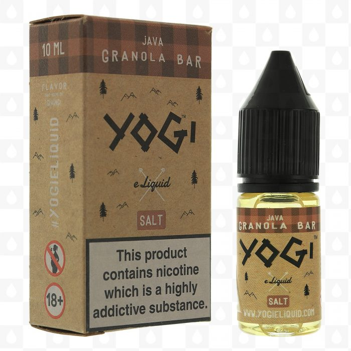 Yogi Java Granola Bar 10ml Nic Salt E-Liquid