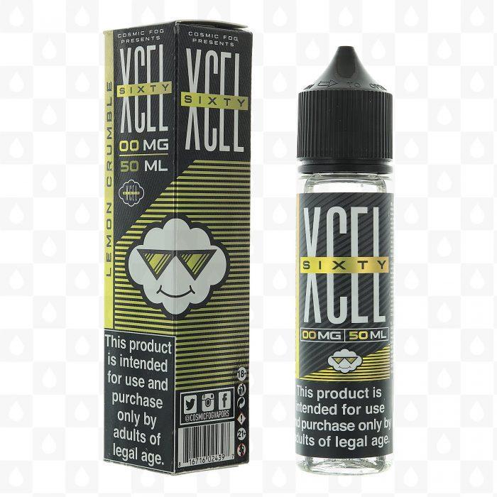 Cosmic Fog XCEL Lemon Crumble 50ml Shortfill E-Liquid