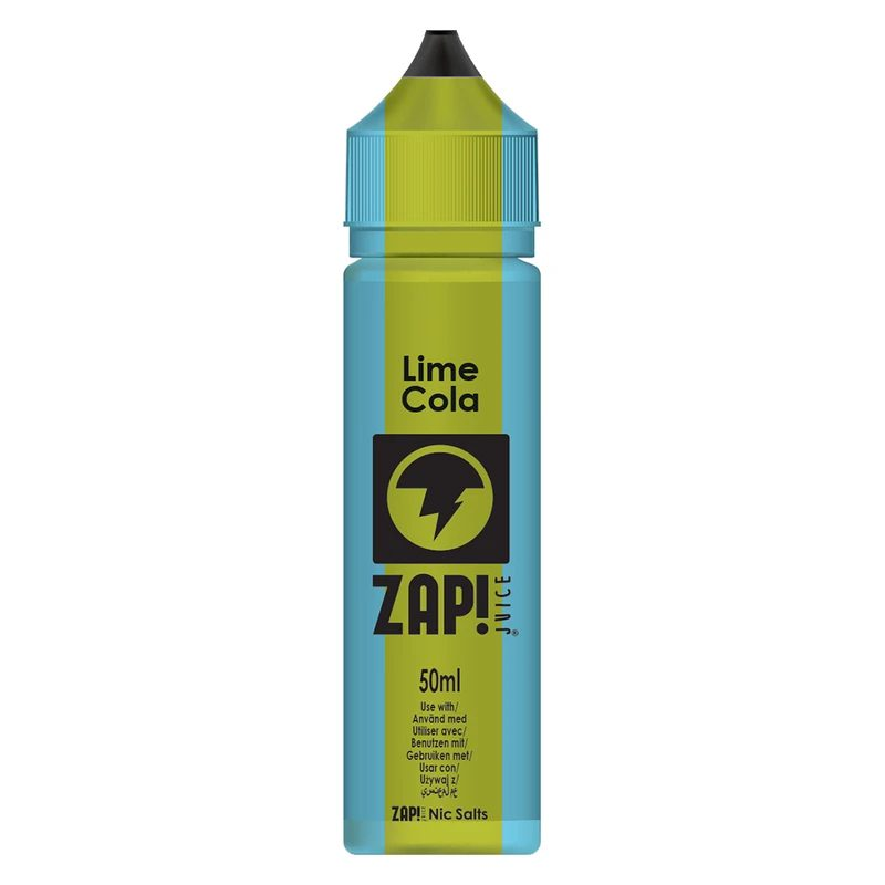 Zap! Lime Cola 50ml Shortfill E-Liquid