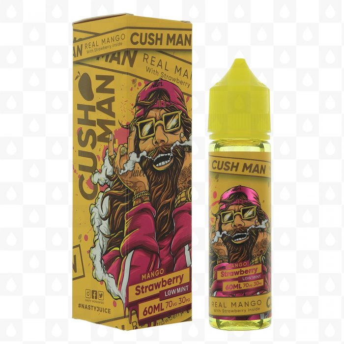 Cush Man Mango Strawberry 50ml Shortfill E-Liquid