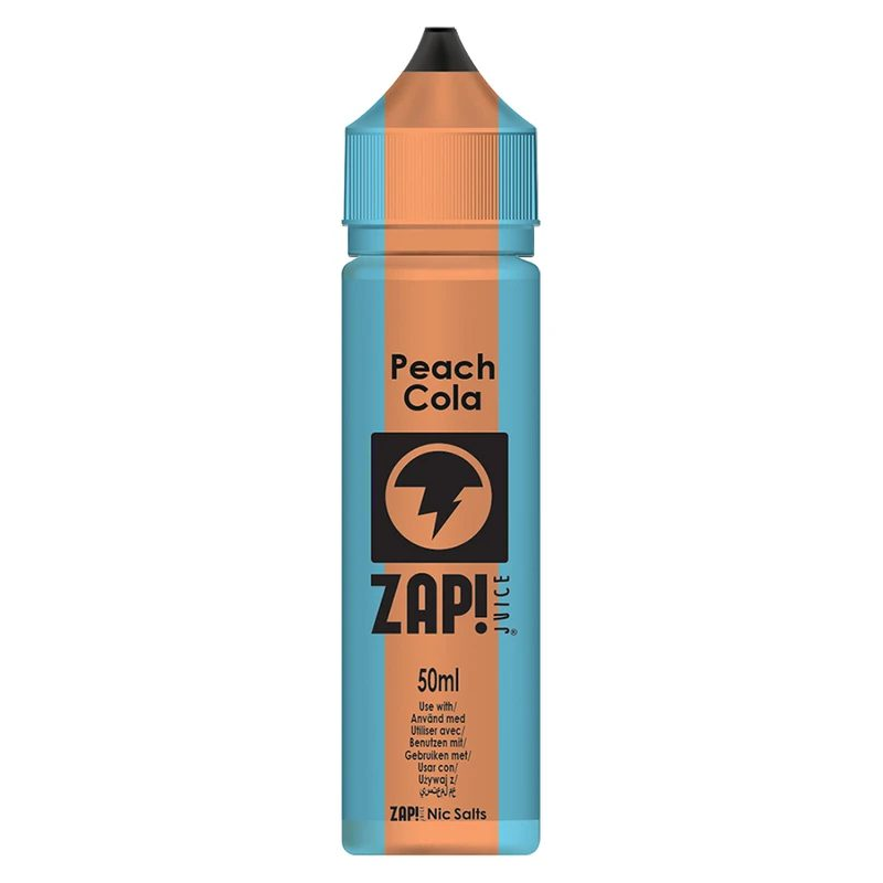 Zap! Peach Cola 50ml Shortfill E-Liquid