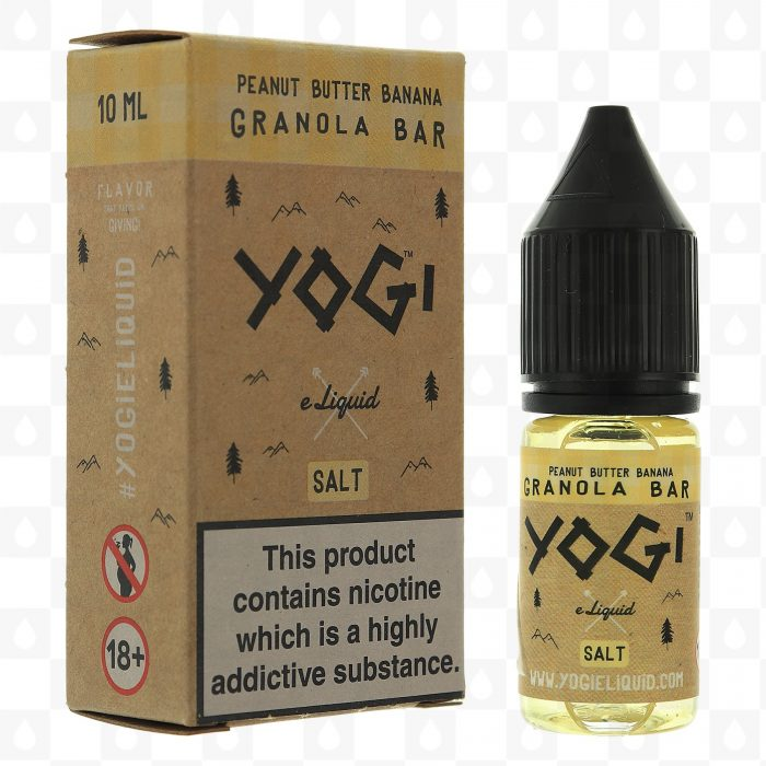 Yogi Peanut Butter Banana Granola Bar 10ml Nic Salt E-Liquid