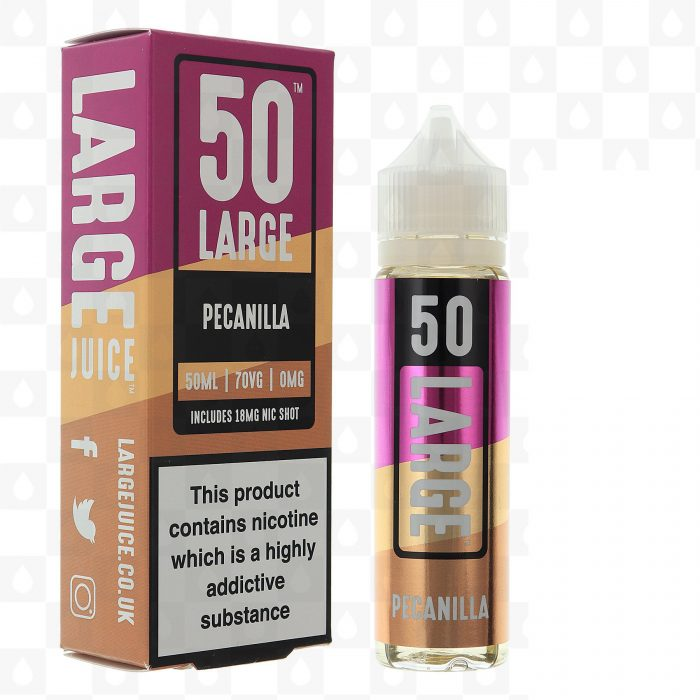 Large Juice 50 Pecanilla 50ml Shortfill E-Liquid