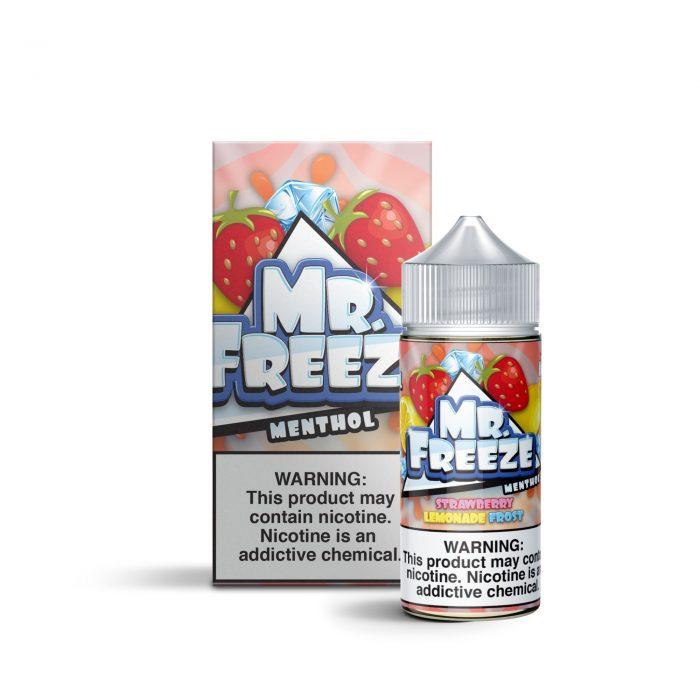 Mr Freeze Strawberry Lemonade Frost 100ml Shortfill E-Liquid