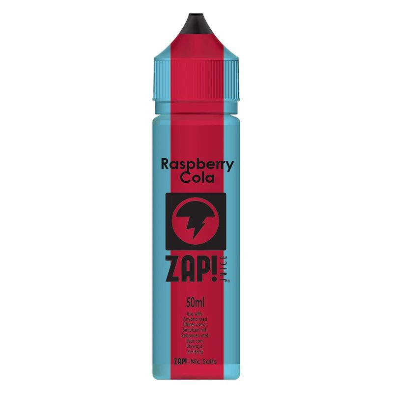 Zap! Raspberry Cola 50ml Shortfill E-Liquid