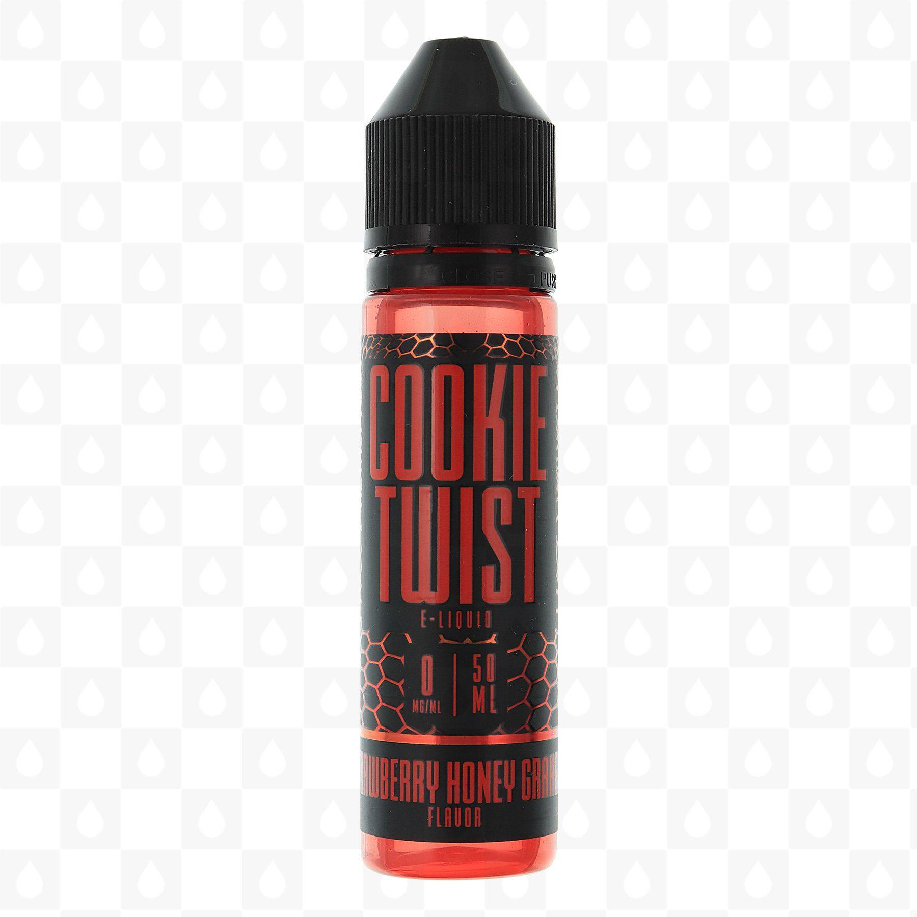 Cookie Twist Strawberry Honey Graham 50ml Shortfill E-Liquid