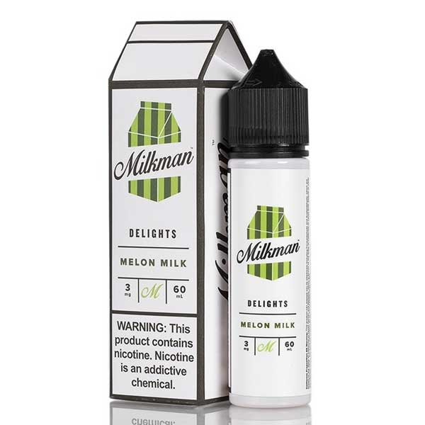 The Milkman Delights Melon Milk 50ml Shortfill E-Liquid