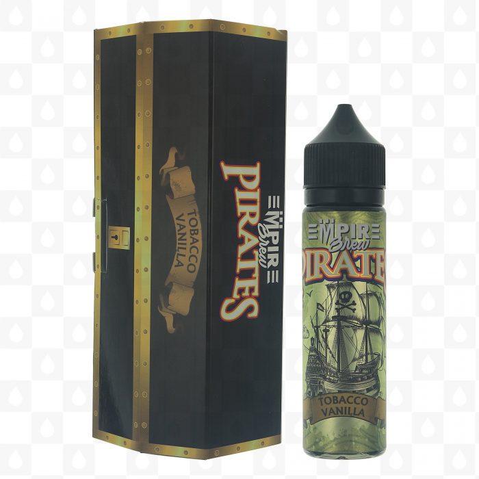 Empire Brew Pirates Vanilla Tobacco 50ml Shortfill E-Liquid