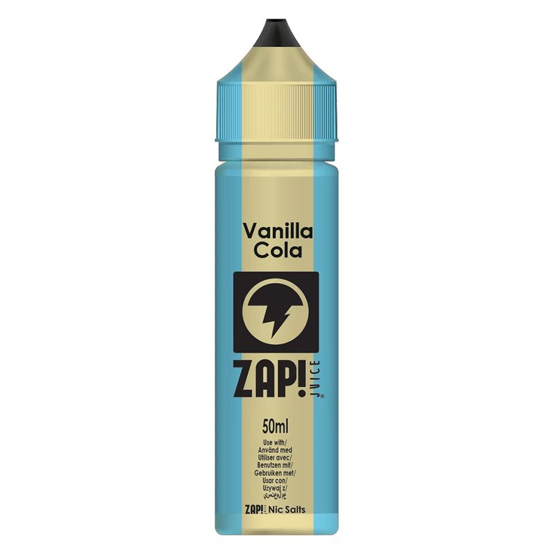 Zap! Vanilla Cola 50ml Shortfill E-Liquid
