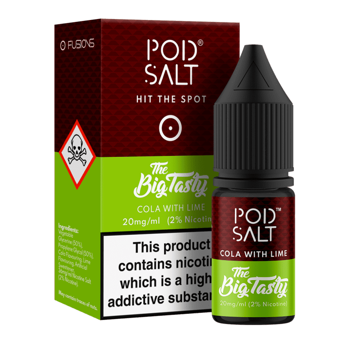 Pod Salts Cola Lime 10ml E-Liquid