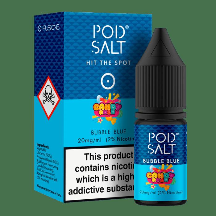 Pod Salt Bubble Blue 10ml Nic Salt E-Liquid