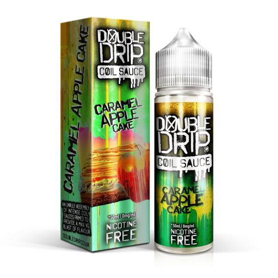 Double Drip Caramel Apple Cake 50ml Shortfill E-Liquid