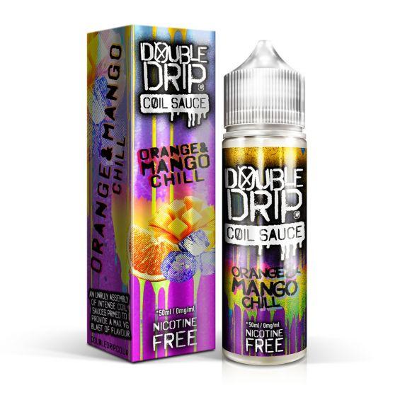 Double Drip Orange & Mango Chill 50ml Shortfill E-Liquid