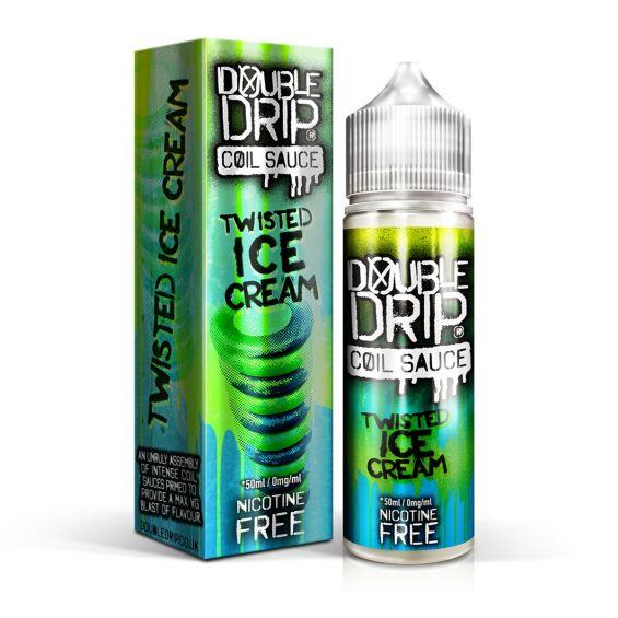 Double Drip Twisted Ice Cream 50ml Shortfill E-Liquid