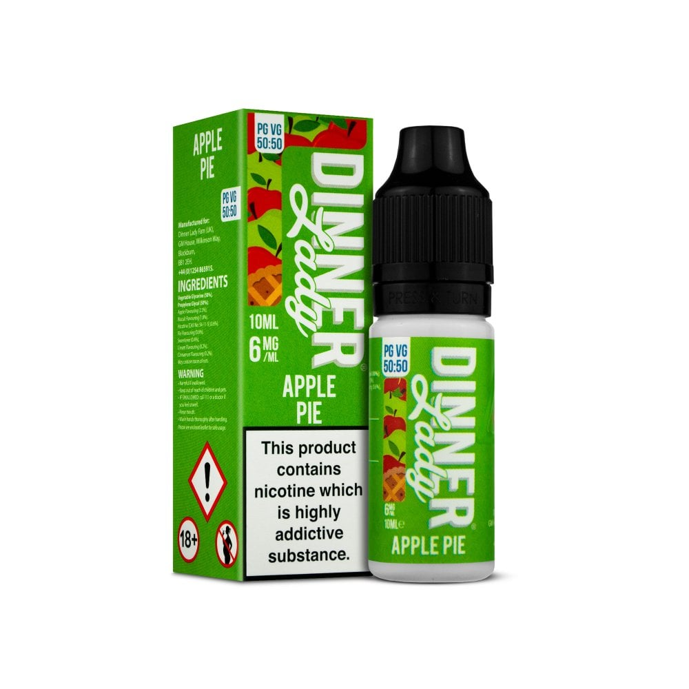 Dinner Lady Apple Pie E-Liquid 10ml