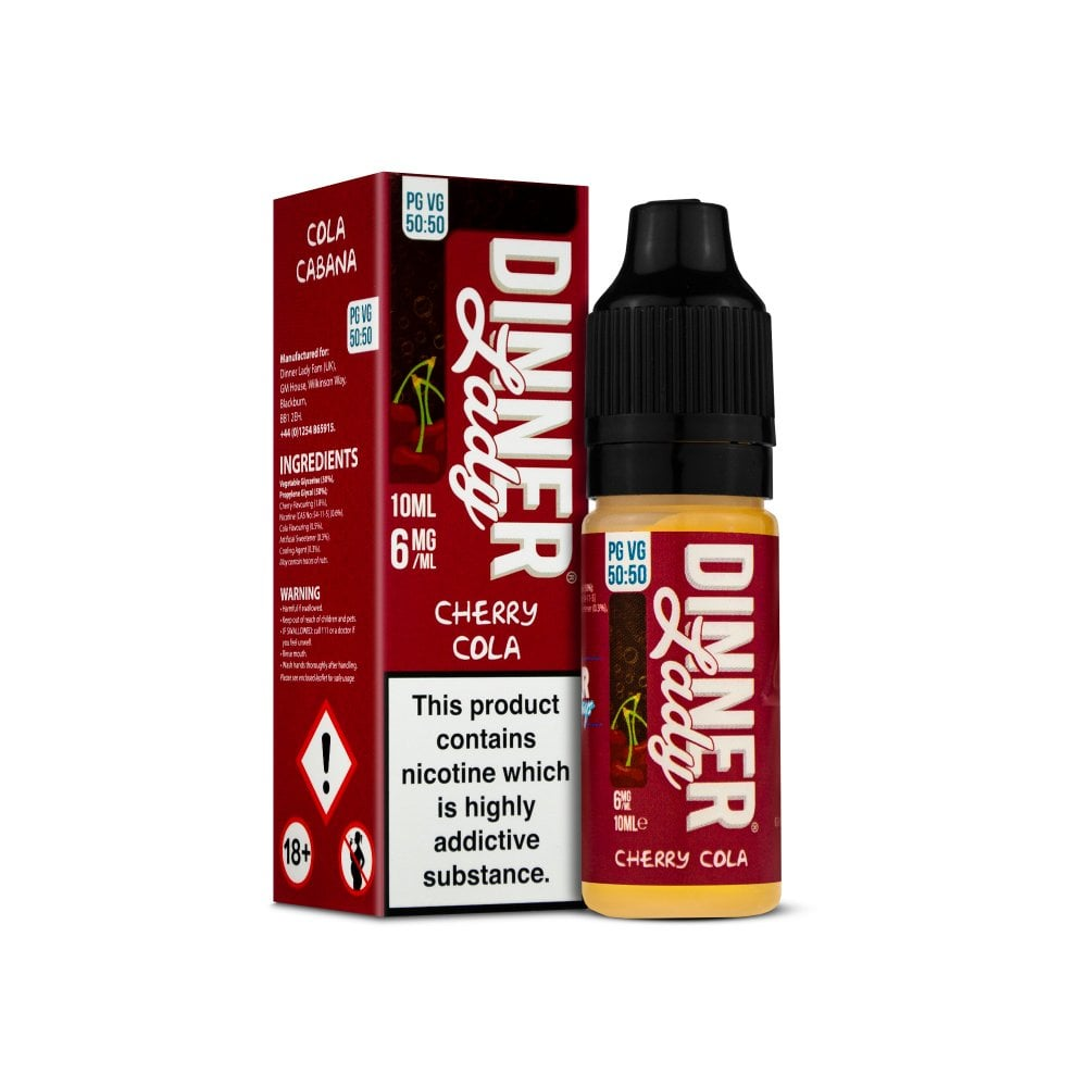 Dinner Lady Cherry Cola 10ml E-Liquid