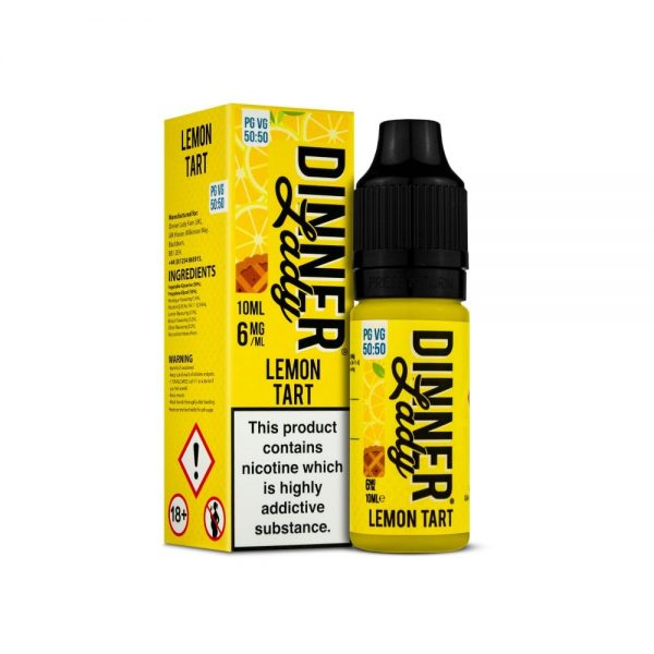 Dinner Lady Lemon Tart 10ml E-Liquid