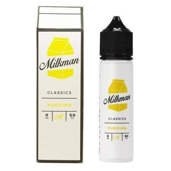 The Milkman Pudding 50ml Shortfill E-Liquid