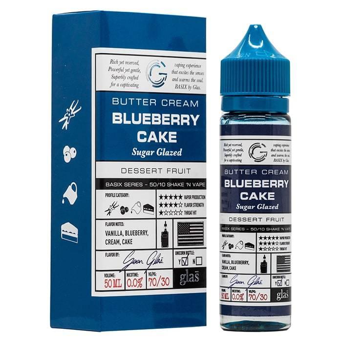 Glas Blueberry Cake 50ml Shortfill E-Liquid